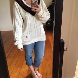 '90s Vintage Tommy Hilfiger Classic Tennis Sweater